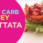 Skinny Ham&Cheese Frittata |Quick n' Yummy