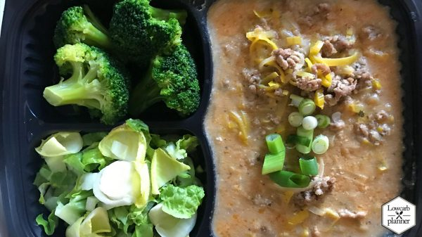 meal prepp leek-cheese-meat soup