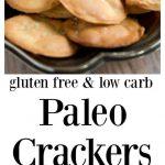 Paleo Almond Crackers