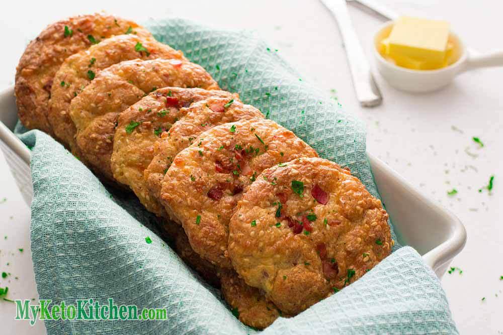 Keto Cheese & Bacon Rolls Recipe