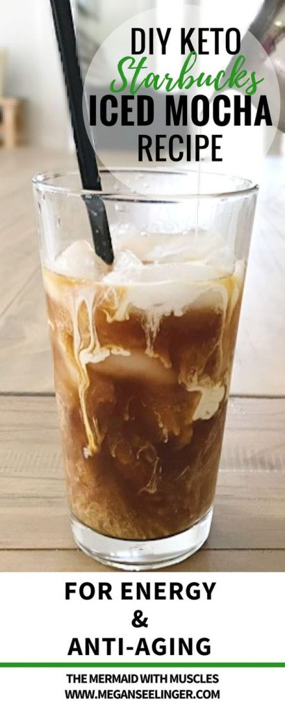 Keto Starbucks Iced Mocha Easy DIY Recipe