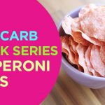 Low Carb SNACK Recipe | Pepperoni Chips