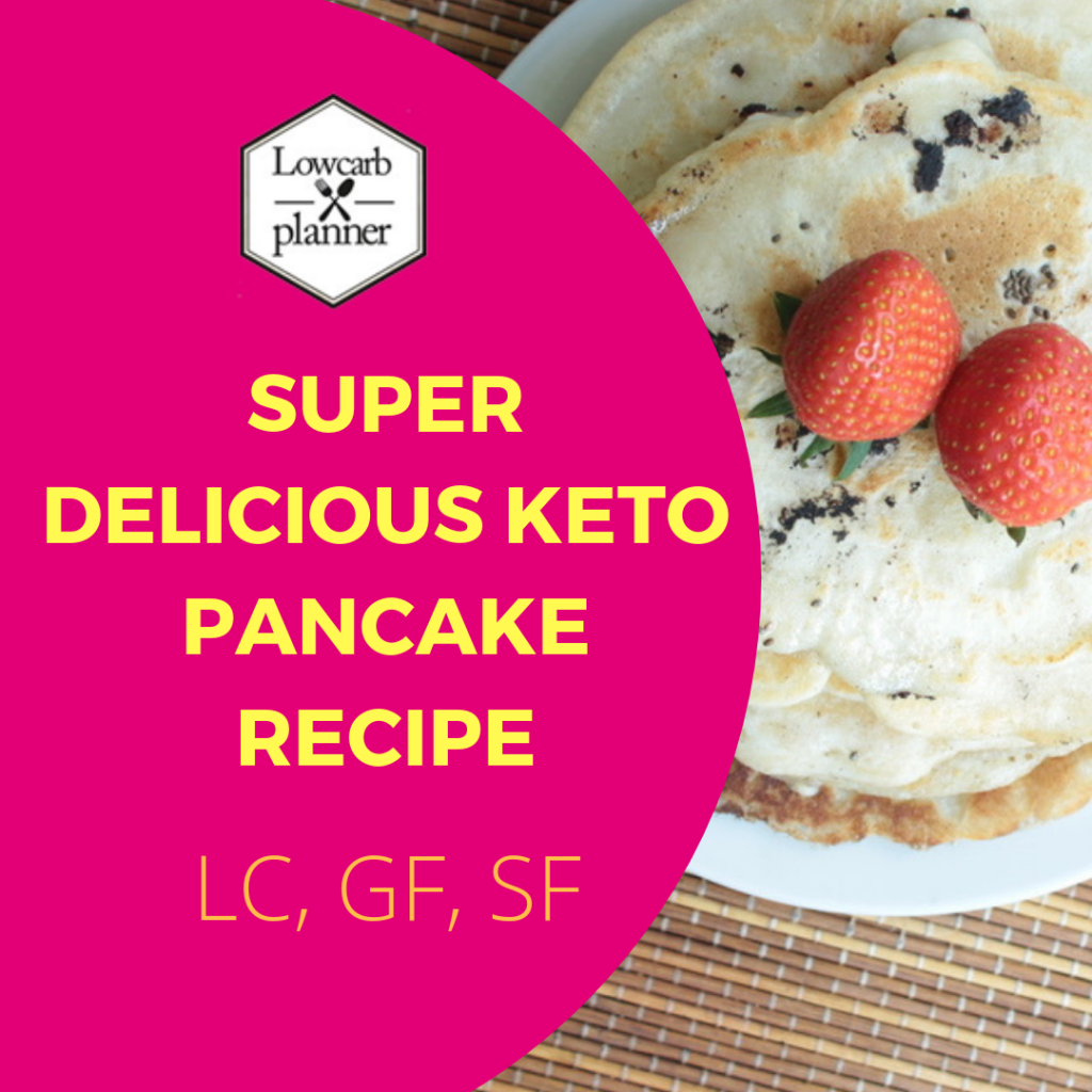 Super awesome delicious Keto Pancake Recipe